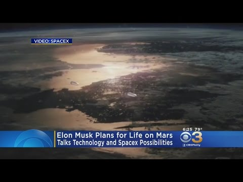 Elon Musk Plans For Life On Mars