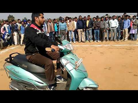 'TWO WHEELER TRIAL TEST FOR DRIVING LICENSE' - In India