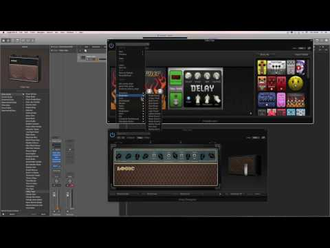 Logic Pro X tutorial: Audio tracks & Audio recording 14 (Recording guitars)