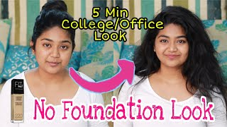 🌞 Everyday Summer Look in JUST 5 Min🔥🔥 Quick sweat Proof Look / Office & College look