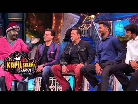 Salman Khan, Kiccha Sudeep and Dabangg 3 Team Backstage Funny Moments | The Kapil Sharma Show Mp3