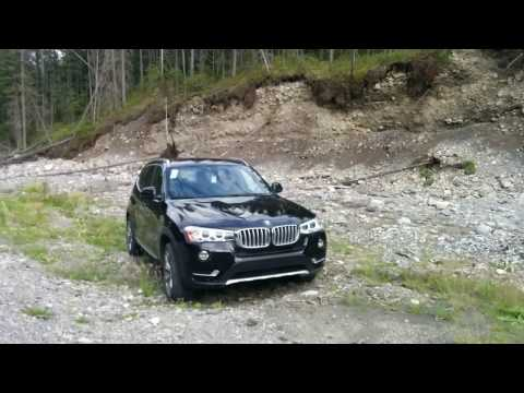 BMW X3 trying to OFF-ROAD in Rocky Mountain
