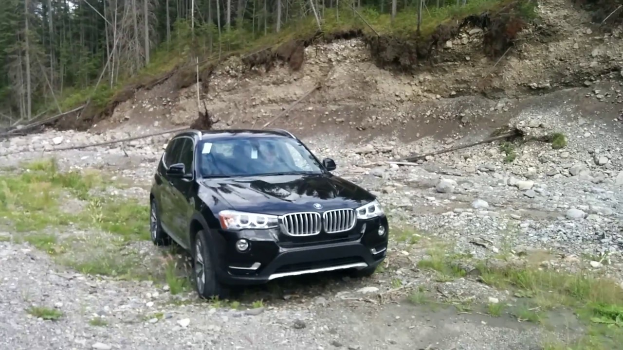 bmw x3 trying to off road in rocky mountain youtube. Black Bedroom Furniture Sets. Home Design Ideas