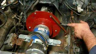 (16) Electric Suzuki Samurai EV the brake system