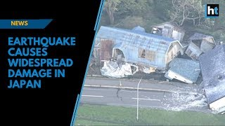 Earthquake causes widespread damage in Japan thumbnail
