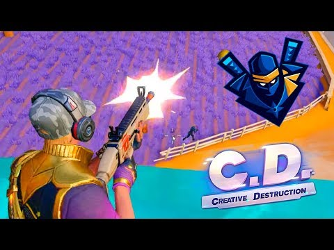 NINJA IN CD 🔥 Creative Destruction (Fortcraft) | PolGames | Gameplay