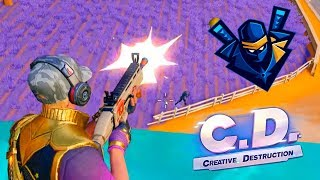 EL NINJA DE CD 🔥 Creative Destruction (Fortcraft) | PolGames | Gameplay en Español