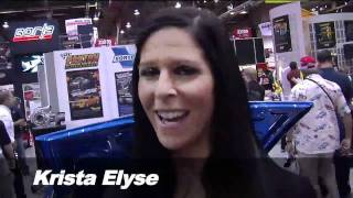 2010 SEMA Video Coverage: Booth Babe Challenge #2 Answer