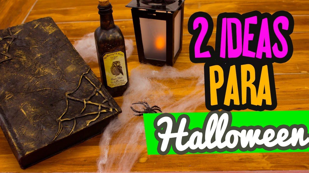 Decoraciones para halloween 2 ideas f ciles libro de for Libros de decoracion