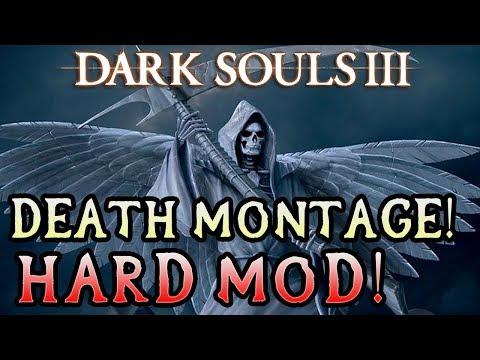 RAGING!!! Dark Souls 3 Hard Mod Death Montage!