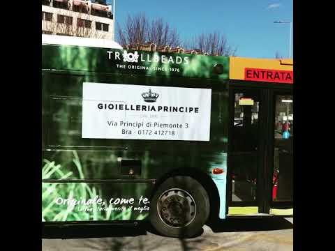 Bus Advertising - Gioielleria Principe - SPA Gioielli - TROLLBEADS