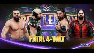 Fatal 4 Way - WWE 2k19 // Probando otra forma de editar