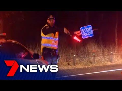Police Shut Down All Motorway Exits In Sydney's Biggest Ever RBT Blitz | 7NEWS