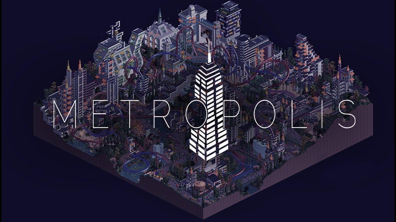 [H2H8] Rollercoaster Tycoon 2 Cinematic Metropolis Showcase [FULLHD]