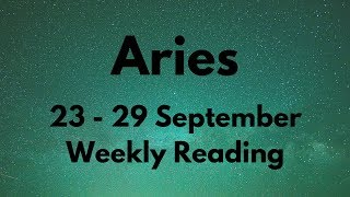 ARIES YOU'LL BE SURPRISED WHEN THEY DO THIS! SEPTEMBER 23rd - 29th