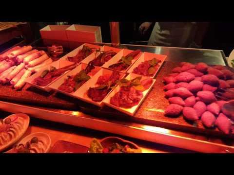 Amazing Dinner buffet in Habtoor Grand Dubai 2016