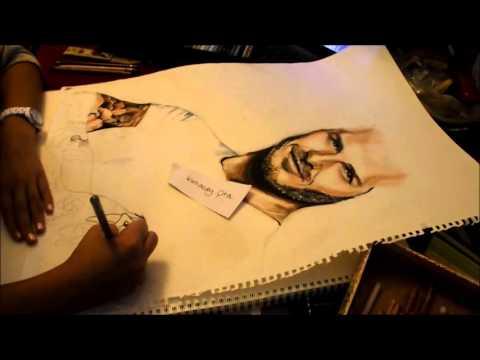 David Beckham - Speedpainting by Kamacay Cira