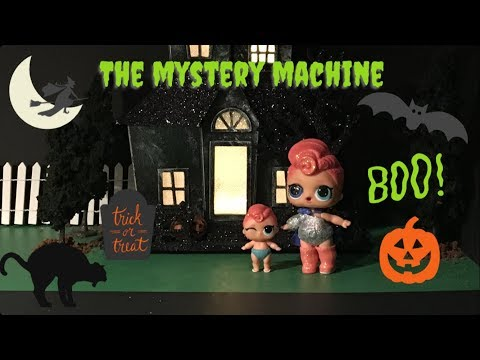 LOL Surprise! LOL Stop Motion Miniseries! Ep 1 - The Mystery Machine #lolsurprise