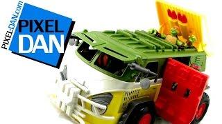 Nickelodeon Teenage Mutant Ninja Turtles 2015 Party Wagon Vehicle Video Review