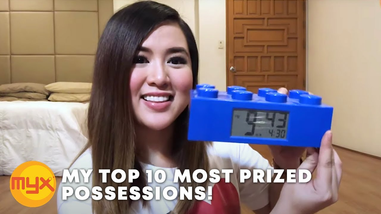 MY TOP 10 MOST PRIZED POSSESSIONS!   AI'S VLOG