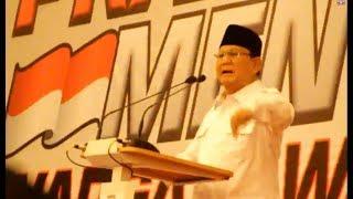 Download Video Bersemangat Pidato Prabowo : Bangsa kita tidak Miskin..!!! MP3 3GP MP4