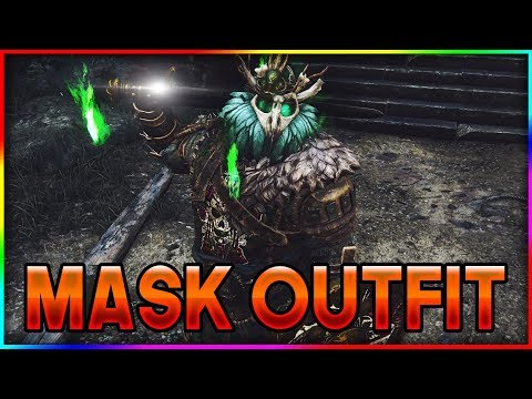 NEW WARLORD MASK OUTFIT! - For Honor Halloween Event