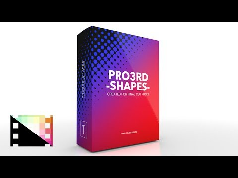 Pro3rd Shapes - Geometric lower thirds for FCPX - Pixel Film Studios