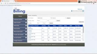 Billing software designed & developed by ram krishna shukla. best for supermarket, textiles, bag shoes mart, show rooms and retail shops. ...