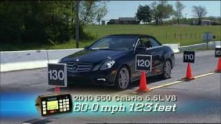 Mercedes Benz E550 Cabriolet 2011 Videos