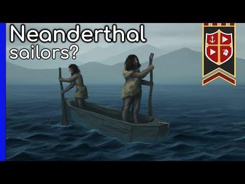 Neanderthals: The First Sailors? #operationodysseus