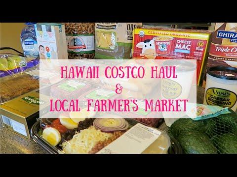 HAWAII COSTCO HAUL #8 & LOCAL FARMER'S MARKET