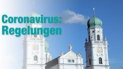 Coronavirus: Regelungen im Bistum Passau
