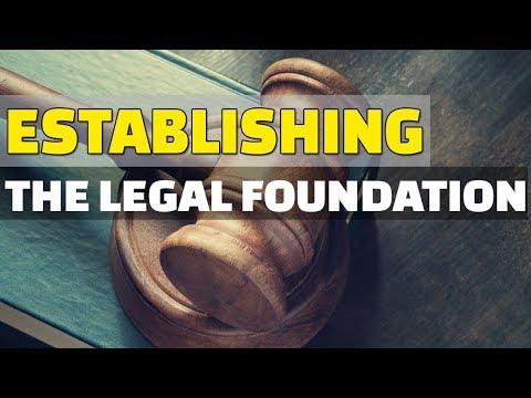 Legal Foundation Considerations for Entrepreneurs | Dr. Paul Gerhardt