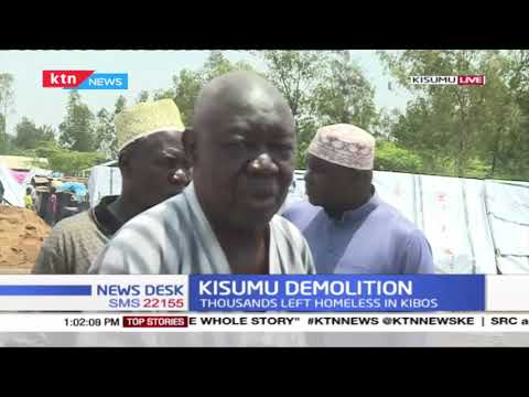 Kisumu demolition: Humanitarians situation remains dire as thousands are left homeless in Kibos