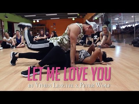 """Ariana Grande """"LET ME LOVE YOU"""" Choreography by Vivien Lengyel x Peter Wolf"""