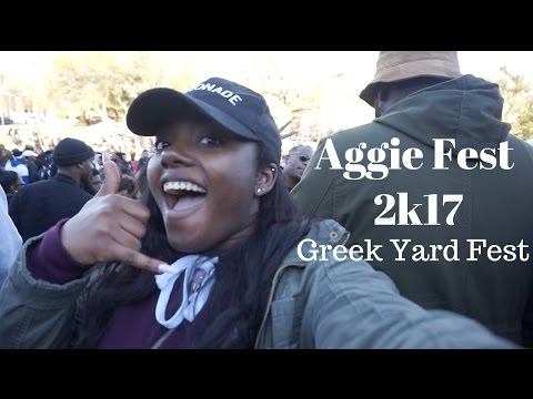 Aggie Fest 2017 (Greek Yard Fest)