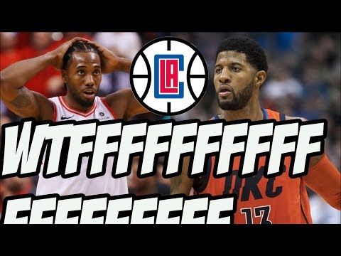 The Clippers Signed Kawhi Leonard & Traded Everything Imaginable For Paul George