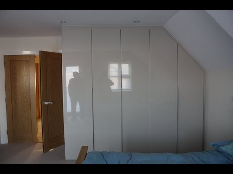 Fitted Wardrobes Signature Collection Sandstone Gloss