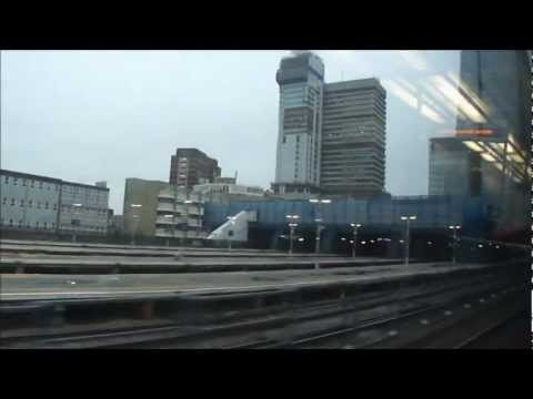 Train ride from Falconwood to Charing Cross station - Saturday 9th March 2013