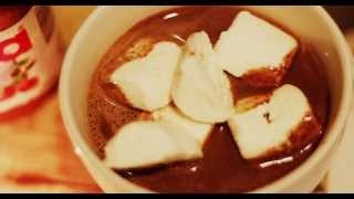 [hd 1080p] Nutella Hot Chocolate With Grilled Marshmallows