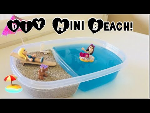 ❤️DIY mini beach!🏖