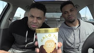 Eating Halo Top  Healthy Ice Cream @hodgetwins