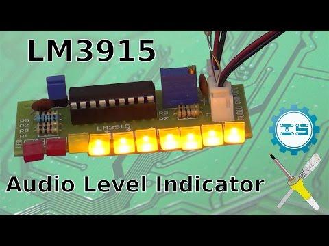 [ICStation.com] BitBastelei #238 - LM3915 Audio Level Indicator Bausatz