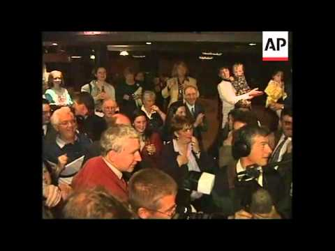 N. IRELAND: REACTION TO PEACE REFERENDUM YES VICTORY