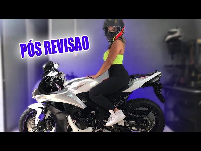 COMO FICOU A MOT0 APÓS A REVISÃO - Thays Rx