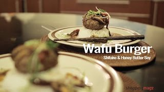 Wafu Burger, Shitake And Honey Butter Soy By Irma Ruby