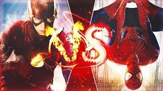Flash VS Spiderman l Rap Battle MD