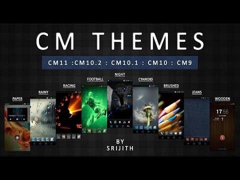 Best 8 Cyanogenmod 11 Themes [2014 ]