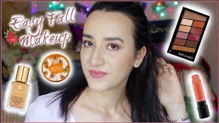 ENG: Easy and Simple Fall Makeup Look | Wet n Wild, Estee Lauder, Mac, Coty Airspun