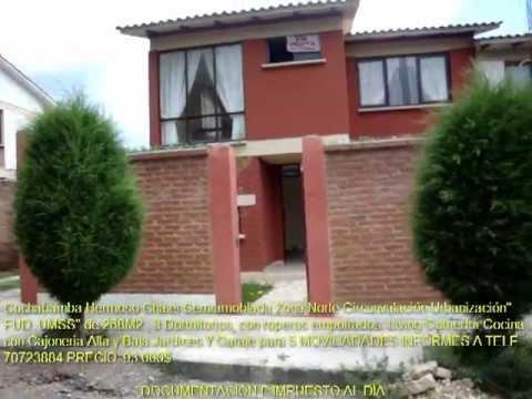 Casas En Venta En Cochabamba